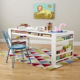 kids art table with storage compartment department play table white modern kids