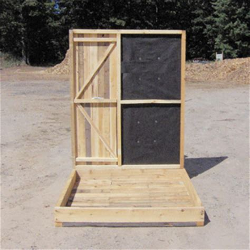 deer box blinds for sale pin wooden deer blinds cedar wood for sale box on