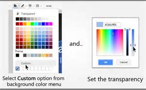 how to change font color in docs semi transparent background for presentation text