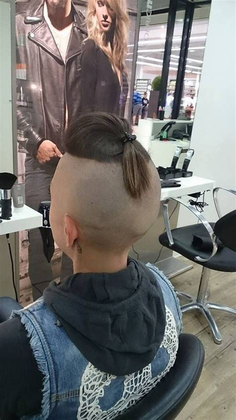 edgy urban cool hair on pinterest 86 pins undershaved haircut headshave and bald fetish blog