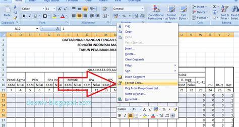 cara membuat nomor halaman kosong cara membuat border daftar nilai excel 2007 deuniv