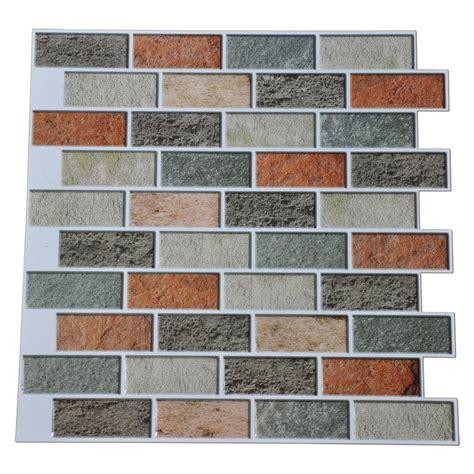 adhesive wall tiles backsplash peal and stick kitchen backsplash adhesive wall tile 10