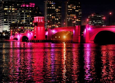 Pink Lights by Lighting The Way For A Cure Www Palmbeachdailynews