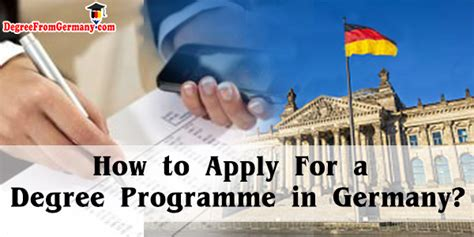 Ms Mba Dual Degree Programs In Germany by How To Apply To German Degree From Germany