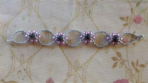 como hacer pulseras con perlas pulsera de perlas y chaquiras youtube