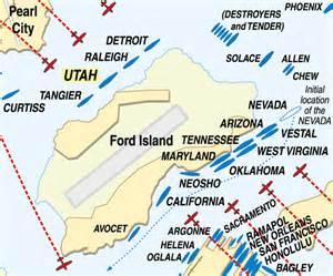 Ford Island Map Pearl Harbor Paradox The Uss Utah