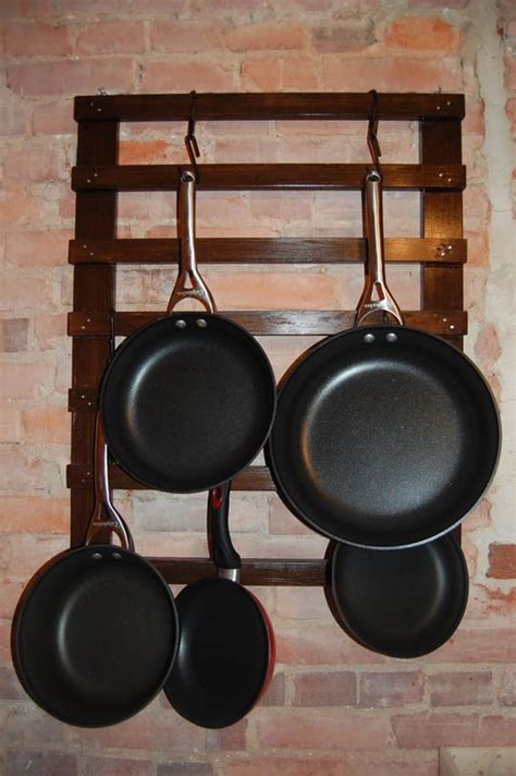 Wall Pot Stand 25 Best Ideas About Pan Rack On Pot Rack