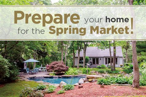 get your home ready for spring 5 ways to get your home ready for the spring market