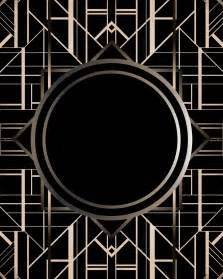 Art Deco by Art Deco Gatsby Pattern Q Pattern