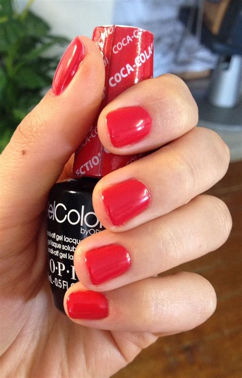 best gel l for nails opi red orange nail polish www pixshark com images