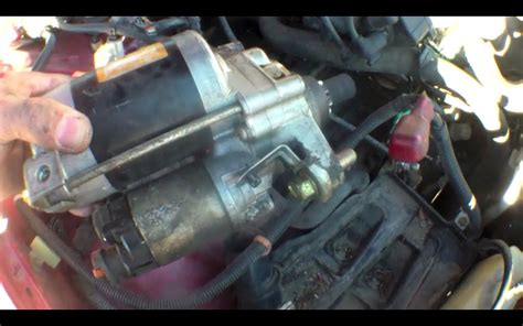 2005 honda odyssey starter replacement clicking starter motor replacement honda accord