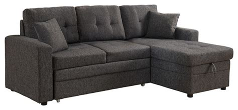 Darwin Sectional Sofa With Storage And Pull Out Bed Sectional Sofas With Pull Out Bed