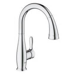 Kitchen Faucet Pull Grohe Parkfield Mitigeur 233 Vier Avec Douchette Extractible