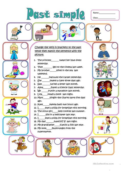 english teaching worksheets simple past past simple worksheet free esl printable worksheets made