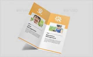 bi fold brochure template indesign bi fold brochure template word 7 best agenda templates