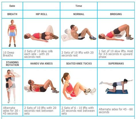 abdominal exercises for beginners a new improved me