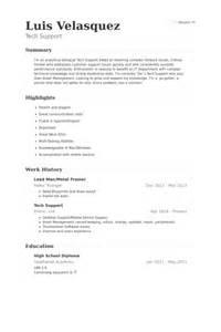 Sle Resume For Baker by Lead Resume Sles Visualcv Resume Sles Database