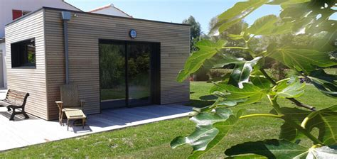 extension chambre extension bois agrandissement maison 44 wood 233 al