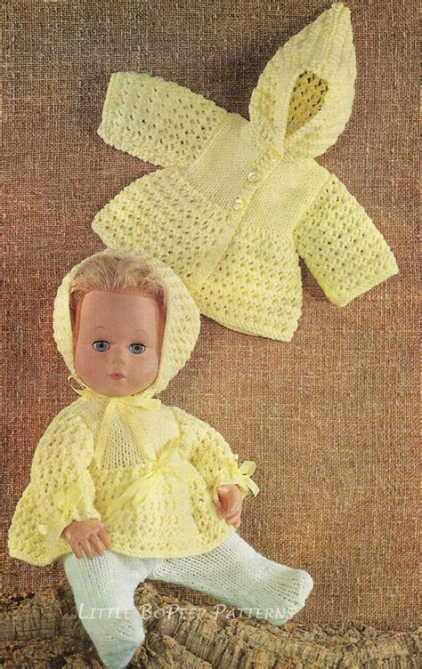 free knitting patterns for 14 inch doll clothes vintage 14 inch dolls clothes knitting pattern