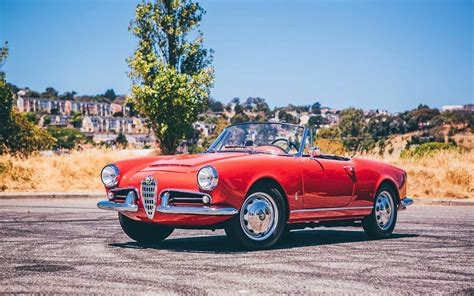 alfa romeo 1600 bf auction 1963 alfa romeo giulia 1600 spider