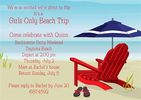 beach party invitation card and invitation ideas beach