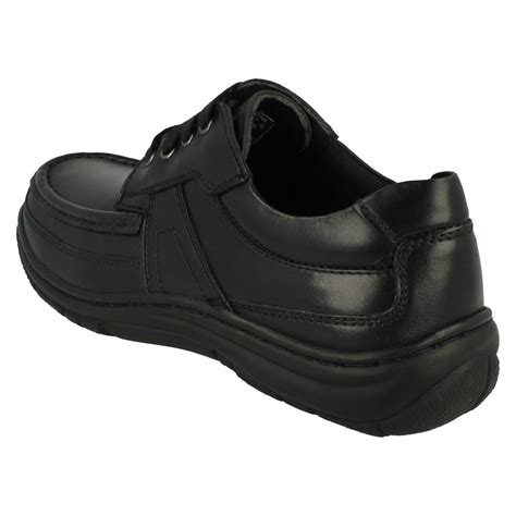 mens hush puppies casual going out lace up shoes zach ebay