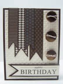 card ideas for mens birthday stin up handmade happy birthday greeting card