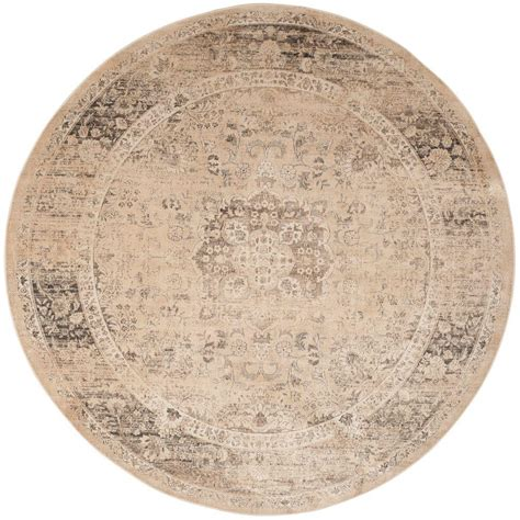 10 ft diameter rug safavieh vintage warm beige 8 ft x 8 ft area rug
