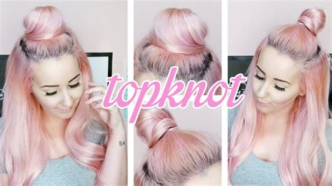 tutorial top up ilegal how to top knot tutorial by tashaleelyn youtube