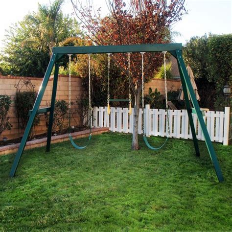 3 swing set congo swing central 3 position swing set