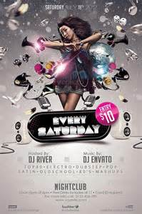 club flyer templates every saturday club flyer template http clubpartyflyer