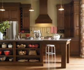 Schrock Kitchen Cabinets by Dark Cherry Kitchen Cabinets Schrock Cabinetry
