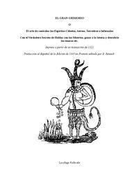 El Gran Grimorio o Dragón Rojo 1522-1845 - Free download