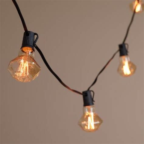 Diamond Filament 10 Bulb String Lights World Market Market String Lights