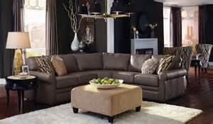 Lazyboy Sectional Sofas Collins By La Z Boy Stephen Demianiuk Highback Chairs In Background For In Front Of