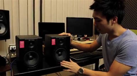 M Audio Bx5 by M Audio Bx5a Review Why 5 Inch Studio Monitors Youtube