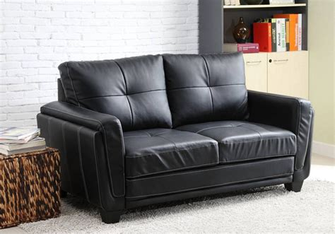 Vinyl Couches by Best 15 Of Black Vinyl Sofas