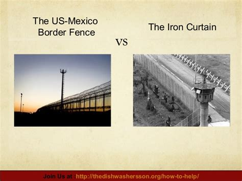 what was the iron curtain us mexico border fence vs the iron curtain