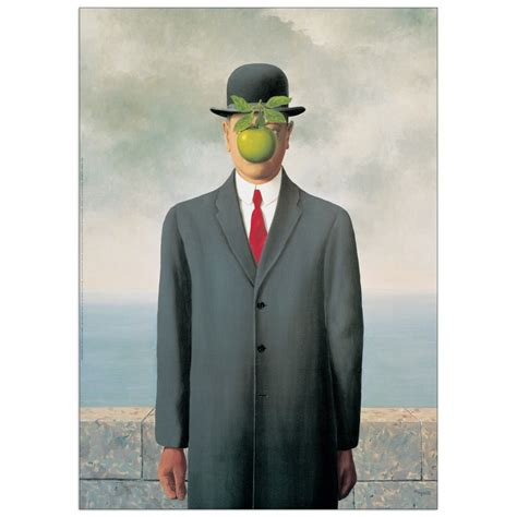 cuadro de magritte magritte les fils de l homme