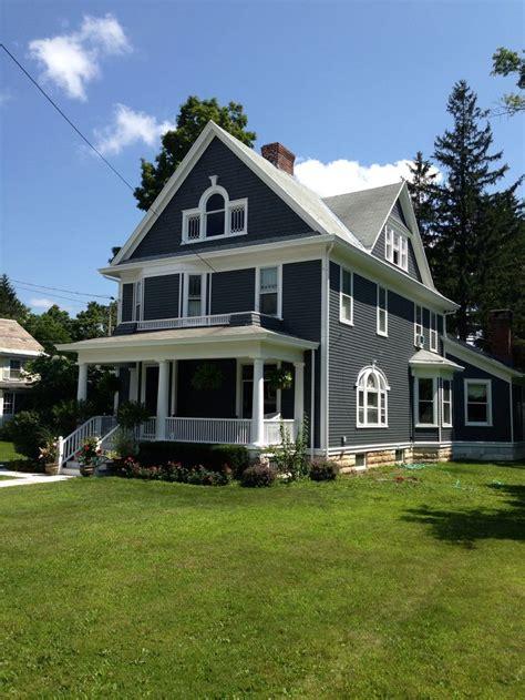 grey house white trim flint grey white trim exterior house colors pinterest