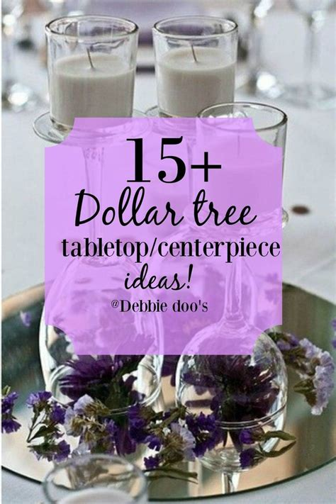719 Best Images About A Dollar Tree Wedding On Pinterest Dollar Store Wedding Centerpieces