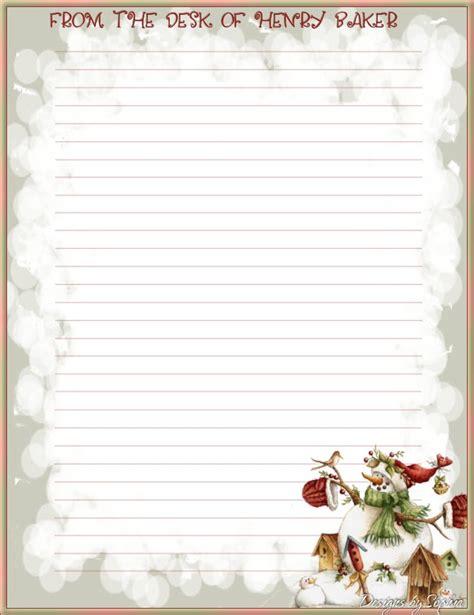 printable christmas stationary with lines my printable stationary creations 3 sophia designs