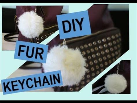 Unicorn Fur Pompom Fuzzy Simple Key Chain Pfa8e7 diy fur keychain doovi
