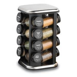 Spice Rack Rotating Amazon Com Kamenstein Revolving Spice Rack With 16 Filled