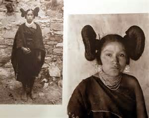 hairstyle for hopi indian hopi and taos