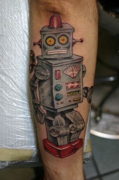 robot tattoos designs ideas and meaning tattoos for you