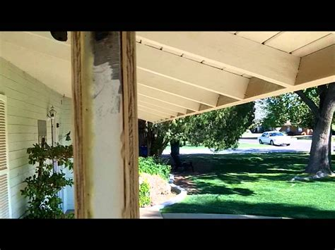 how to build a porch patio columns from scratch youtube