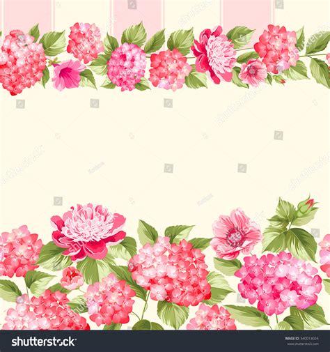 Michaels Wall Stickers pink flower border tile elegant vintage stock vector