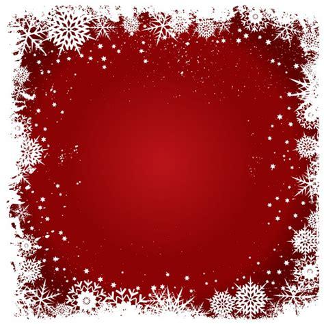 cornice gratis cornice fiocchi di neve su uno sfondo rosso scaricare