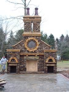 outdoor masonry fireplace plans pizza oven design glossy16ecn